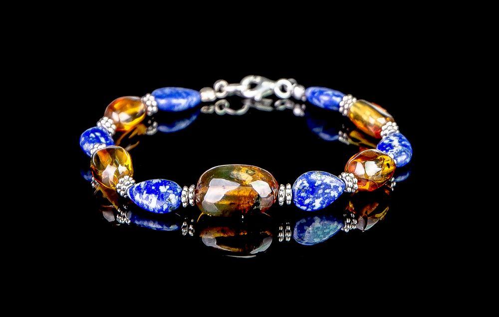 Chihlimbar-Lapis Lazuli