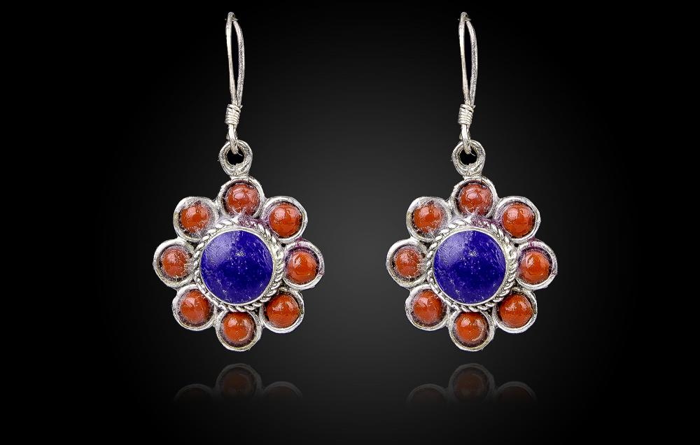 Coral Rosu-Lapis Lazuli