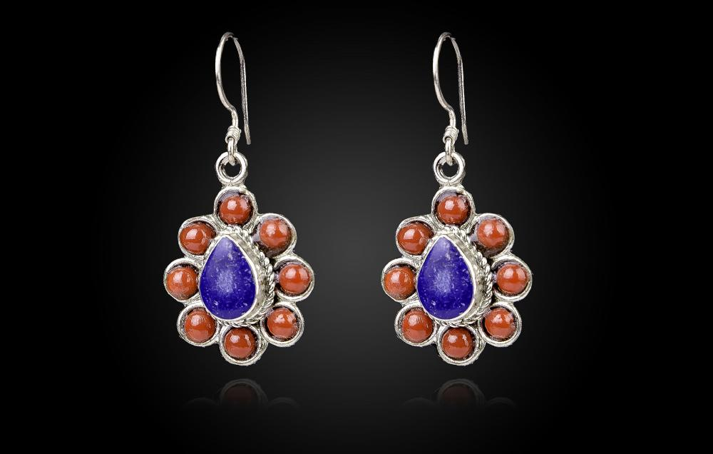 Lapis Lazuli-Coral rosu 6