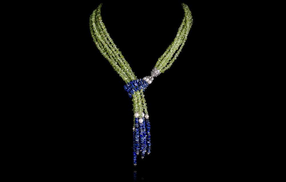 Peridot-Lapis Lazuli